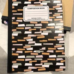 Retro Composition Notebook NWT